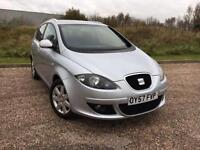 Seat Altea XL 2.0TDI DSG AUTO 2007 57 STYLANCE *ONLY 59K MILES, FULL S/HISTORY*