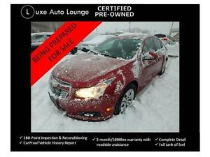 2013 Chevrolet Cruze LT Turbo AUTO, REMOTE START, BLUETOOTH, XM!