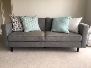 3 months old 2 & 3 seater grey couches for sale Mosman Mosman Area Preview
