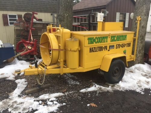 HESCO MOBILE POWER UNIT - 7,000 WATT KOHLER GENERATOR, AIR COMPRESSOR, HOT AIR