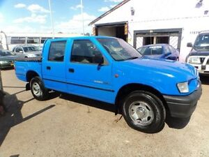 1999 Holden Rodeo TFR9 LX Blue 5 Speed Manual Crewcab North St Marys Penrith Area Preview