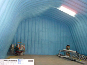 Huge House, WOW Insulated Quonset(approx.32x50)in Zenon Park.