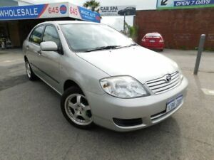 05 TOYOTA COROLLA *** VERY LOW KMS *** PERFECT PAINT *** LONG REGO *** SEDAN Victoria Park Victoria Park Area Preview