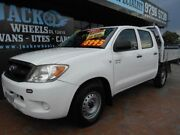 2007 Toyota Hilux GGN15R 07 Upgrade SR White 5 Speed Manual Croydon Burwood Area Preview