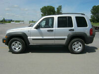 2006 Jeep Liberty Sport 4X4 VUS