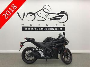2018 Yamaha YZF-R3JB - V3323 - No Payments For 1 Year**