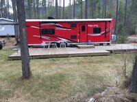 2014 Work and Play Toy Hauler Cargo Trailer 28 Foot