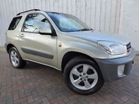 Toyota Rav4 2.0 NV VVTI SWB ....Just what you need at this time of year....superb service history