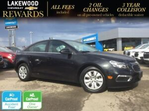 2016 Chevrolet Cruze Limited LT Turbo (Remote Start, Colored Tou