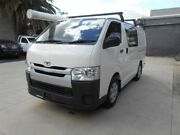 2015 Toyota Hiace LWB White 5 Speed Manual Van Preston Darebin Area Preview