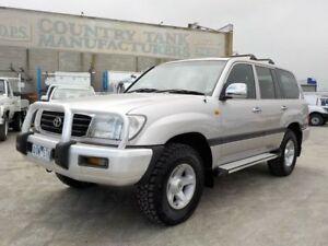2000 Toyota Landcruiser Silver Automatic Wagon