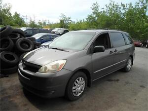 2005 SIENNA, GREAT SHAPE , NEW INSPECTION/TIRES/BRAKES !