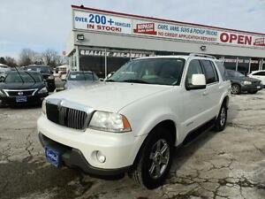 2004 Lincoln Aviator NAVI,DVD,LEATHER,6 PASSENGERS CERTIFIED