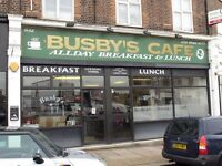 Busby's Cafe - Waitress Required