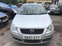 2008 VOLKSWAGEN POLO 1.4 AUTOMATIC, GREY, CHEAP INSURANCE CAR 12 MONTHS MOT