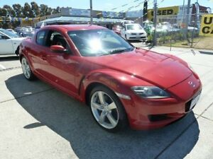 2004 Mazda RX-8 Red 6 Speed Manual Coupe Wangara Wanneroo Area Preview