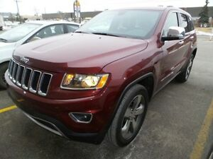 2016 Jeep Grand Cherokee LIMITED NAV READY!