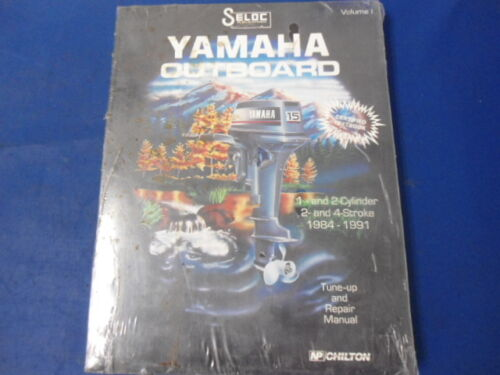 1984-1991 Yamaha Outboards Volume 1, One or two Cylinder 2 or 4 Stroke