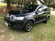 2012 Holden Captiva CG MY12 7 SX (FWD) Azurite Black Metallic 6 Speed Automatic Wagon Applethorpe Southern Downs Preview