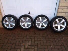 Audi Winter Alloy Wheels & Tyres