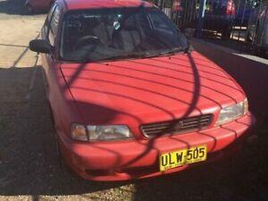 1995 Suzuki Baleno GS Red 4 Speed Automatic Hatchback Wentworthville Parramatta Area Preview