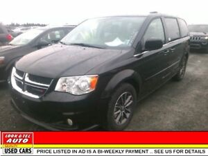 2017 Dodge Grand Caravan $27595.00 with 2k down or trade-in*  SX