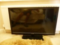 Toshiba 3D T.V with 3D blue ray player