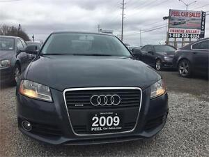 2009 Audi A3 Premium|AWD|BLACK LEATHER|S LINE|ACCIDENT FREE|