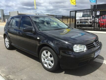 2004 Volkswagen Golf 2.0 Sport Black 4 Speed Automatic Hatchback