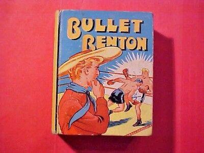 SCARCE Vintage 1939 Bullet Benton Big Little Book Comics Boxing 1169 M350