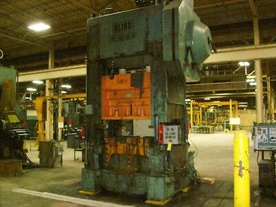 400 Ton Bliss High Speed Straight Side Press Stamping Planet Machinery 4710