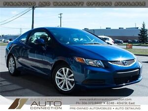 2012 Honda Civic EX Coupe ** ONLY 50,000KM **