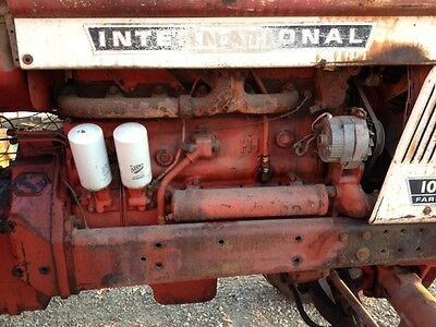 Ih International 1066 Complete Diesel Engine Motor 986 1086 1466 1456 Tractor