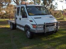 2004 IVECO DAILY TURBO DIESEL 7 SEATER 4X2 DUAL CAB TRAY UTE! Mordialloc Kingston Area Preview