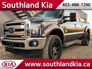 2016 F350 CrewCab 4x4 LARIAT DIESEL **LEATHER-NAV-SUNROOF**
