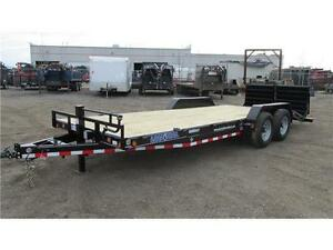 2016 CARHAULER/CONSTRUCTION 22FT TANDEM AXLE (14,000 LB GVW)