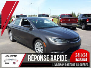2016 Chrysler 200 LX BLUETOOTH RÉGULATEUR DE VITESSE
