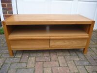 Solid Oak TV Unit in Exc Cond