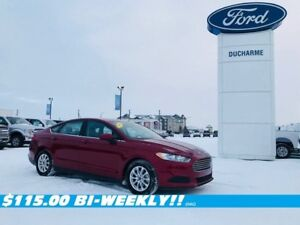2016 Ford Fusion S, FWD, Remote Start, SYNC, $115.00 Bi-Weekly!!