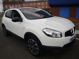 63 NISSAN QASHQAI 1.5dCi ( 110ps ) 360 /PAN ROOF/LEATHER/CRUISE/CLIMATE/