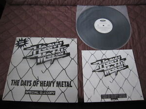 The-Days-of-Heavy-Metal-Japan-Promo-only-Vinyl-LP-Iron-Maiden-Michael-Schenker