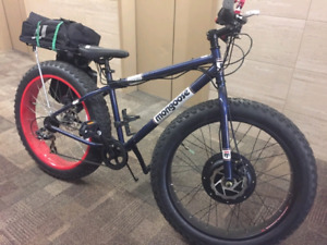 All terrain  Mongoose dolite electric ebike