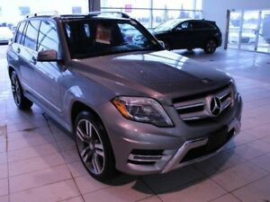 2015 Mercedes-Benz GLK-CLASS GLK 250 BlueTec-LEATHER, PANO ROOF,