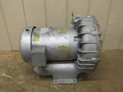 Gast Regenair Model R6p355a Regenerative Blower 280 Cfm 5.5 Hp Baldor 3 Ph