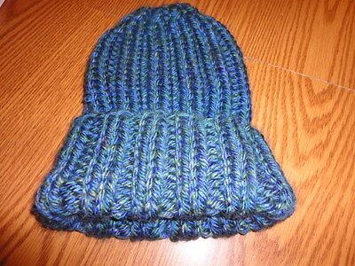 - Pattern for super easy knitted hat - bulky yarn = speedy knitting