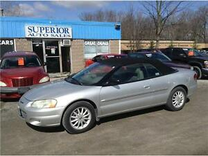 2001 Chrysler Sebring LXi Fully Certified!
