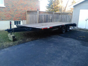 2009  Tandem Deck Over Trailer