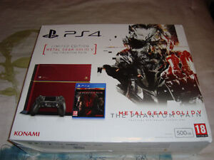 PS4 METAL GEAR SOLID V 5 THE PHANTON PAIN FIRST DAY EDITION NEW