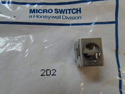 1 Ea Nos Honeywell Microswitch Push Switch  Pn 2d2