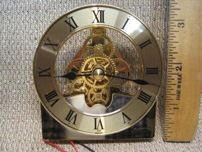 Sunbeam Quartz Skeleton Clock Movement-made in Japan